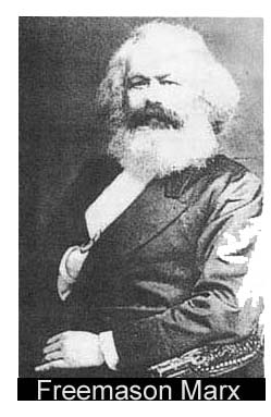 Picture  of Karl Marx, alleged to be